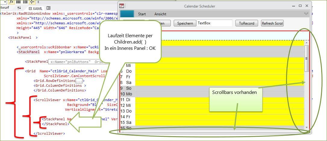 WPF: Scrollviewer oder Scrollbar wird nicht im Grid angezeigt oder ...