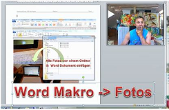 Video zum Laden von Fotos in Word