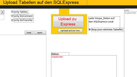Upload von Access-Tabellen zum SQL-Server