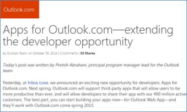 Outlook Apps ab 2015