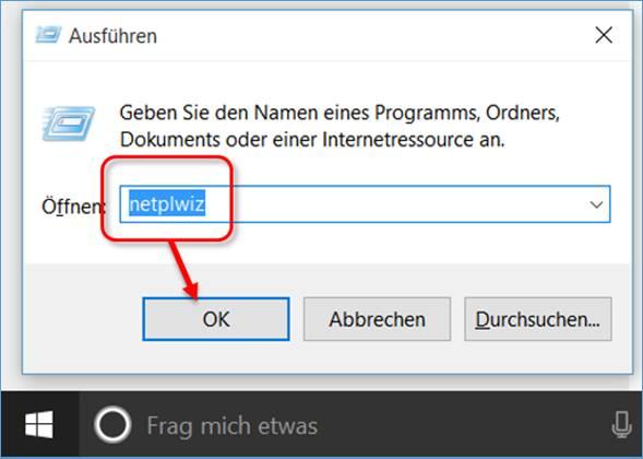 Abschalten anmeldung windows kennwort 10 So kann