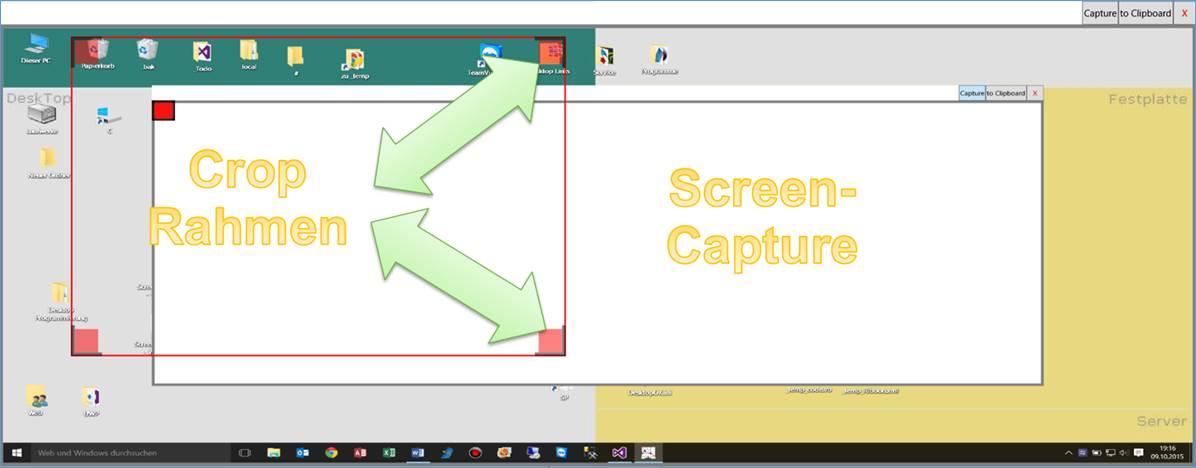 WPF, C# Code: Dynamischer Crop-Rahmen und Desktop-Sceenshot ...