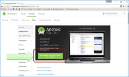 Start Android: Installation Android Studio Entwicklungssoftware