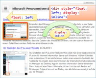 HTML: Display Inline, Float left