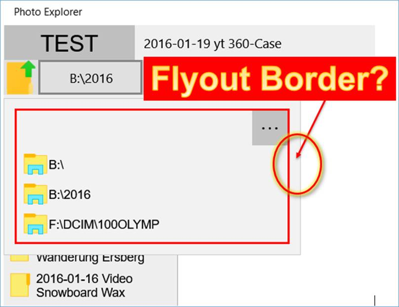 UWP: Flyout Margin entfernen @ codedocu_de Net Framework