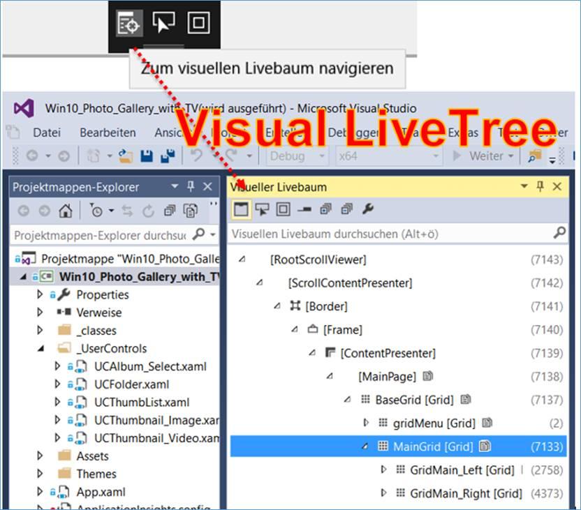 Visual Studio News: Layout Adorner und Navigate to Visual Tree ...