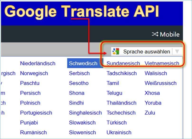 Google Translate Api