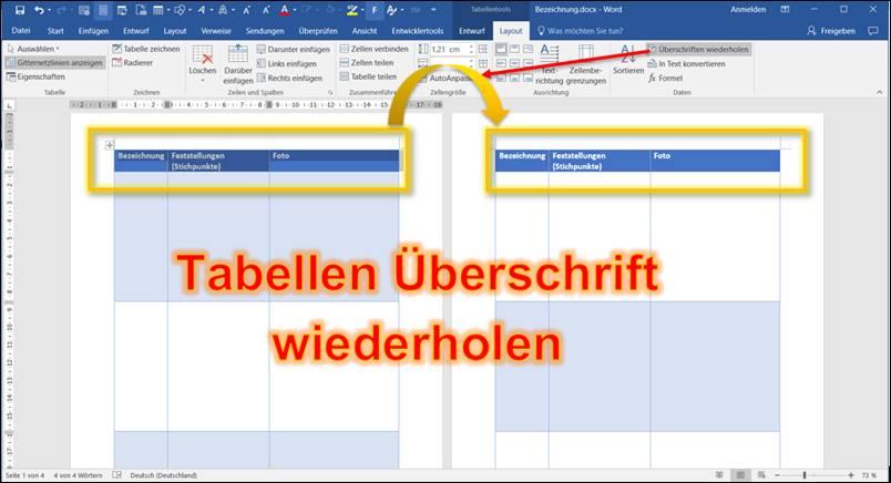 Word tabelle berschriften auf jeder seite wiederholen codedocu de office 365 - Wo kann man mobel lagern ...