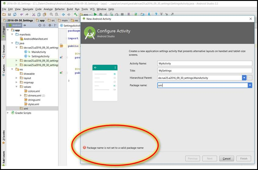how to set apk name in android studio