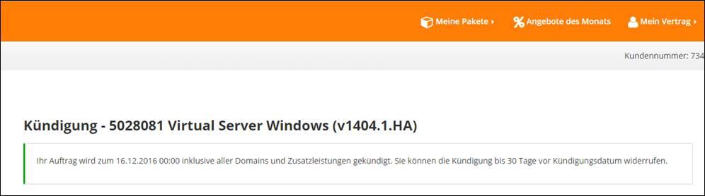 Strato Kündigung Von Domains Und Server At Codedocude Sonstiges