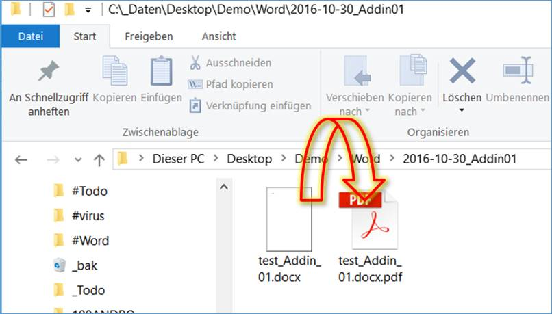 word how to add pdf