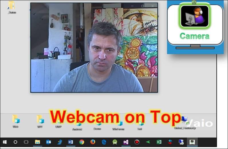 Webcam always on top codedocu de downloads for Fenster immer im vordergrund