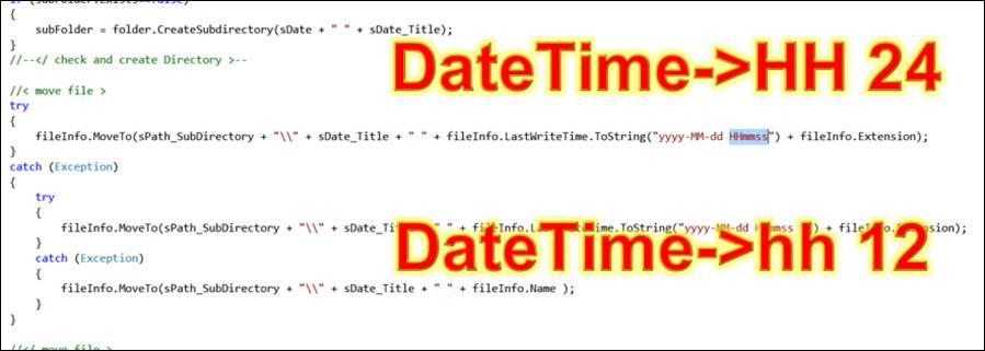 WPF: Datum und Zeit in String mit Format 24 Stunden ausgeben
