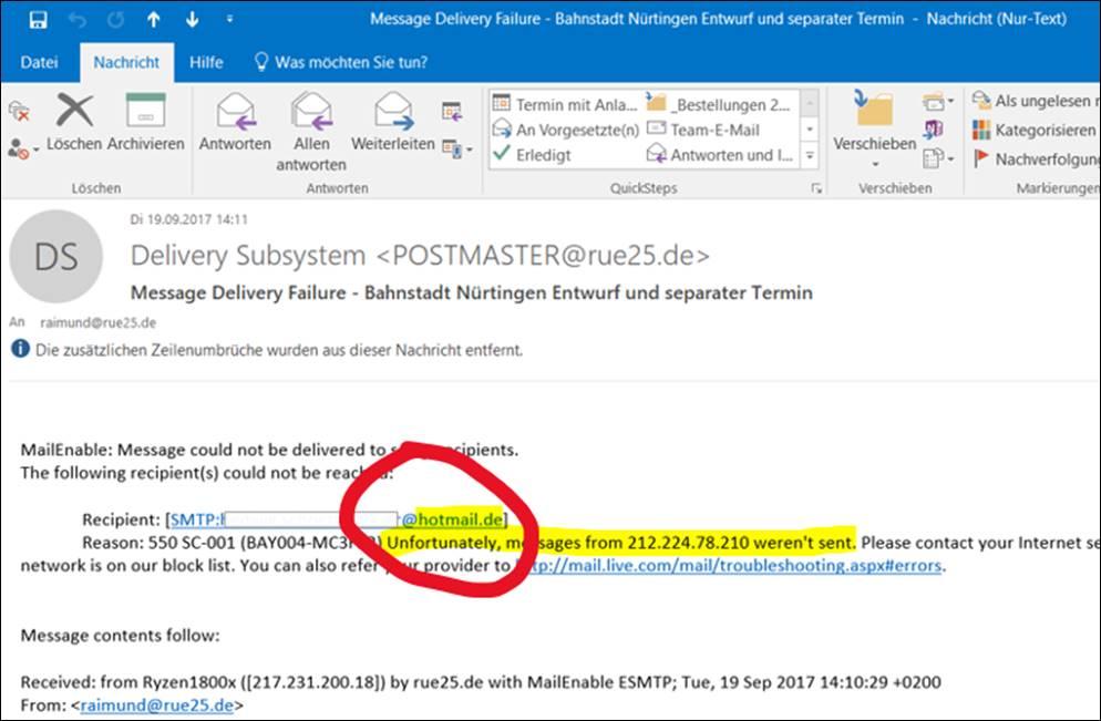 Hotmail De Oder Com