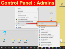 Windows 10: Erweitertes Control Panel für Administratoren
