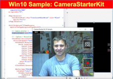 Win10 Samples: CameraStarterKit