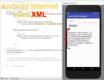 Android Code: Read XML Website mit Android.Volley.GET
