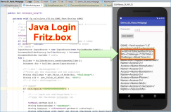 Android Java: AVM Fritzbox Login