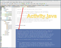 Android: Activity.java Help