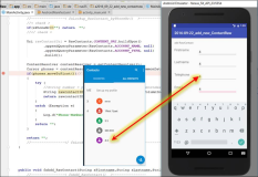 Android Code: Lookup a Contact by the Phone Number