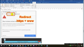 Video: Redirect Https to Https and WWW with SSL 1