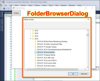 WPF: Folder Dialog und Get Files