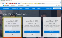 Visual Studio 2017: Download und Installation