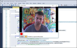 UWP Code: Webcam Recorder in mp4