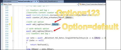Asp.Net C#: Optionale Parameter in Methode