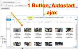 jQuery: 1-Button File-Upload mit Autostart