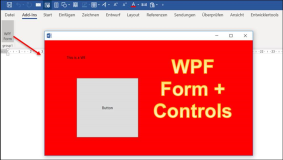 WPF in Office Vstso Anwendungen