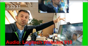 Vergleich Mikrofon Webcam vs Podcast Mikro